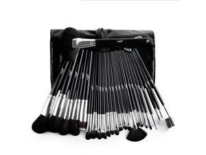 MSQ 25 Pcs antibacterial fiber  Beauty Professional Cosmetic Tool Makeup Brush Set