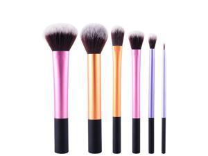MSQ 6 pcs Set portable  beginner Powder Cosmetic Makeup Blush Brushes Foundation Tool