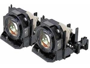 OEM Front Projection Dual Lamp & Housing Twin Pack for the Panasonic PT-DZ570U