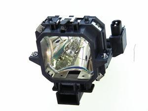 OEM V13H010L21 Lamp & Housing for Epson Projectors - 180 Day Warranty