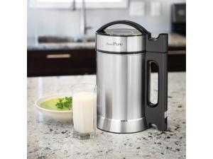Presto Pure Soy, Nut, Seed Milk Maker All Stainless Steel 1.9L Capacity IAE15 with Free Soybean Packet