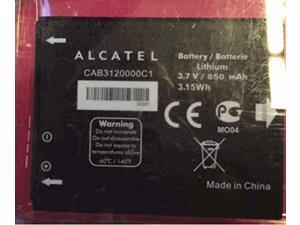 NEW OEM ALCATEL CAB30P0000C1 Alcatel One Touch battery for Alcatel OT-800, OT...