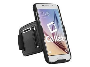 Cellet Rubberized Proguard Case + Sports Armband Combo for Samsung Galaxy S6 ...
