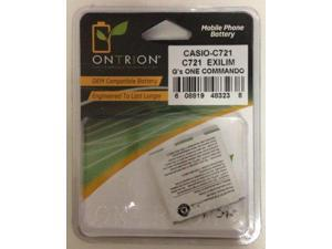 Cell Phone Batteries  Replacement Battery for Casio C721