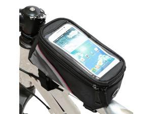 """Weanas® Cycling Bike Bicycle Handlebar Frame Pannier Front Top Tube Bag Pack Rack X Large Waterproof for 5.5"""" Mobile Phone, Such as Iphone 6 6 Plus Samsung 4.8 5.5 Inch Mobile Cell Phone"""