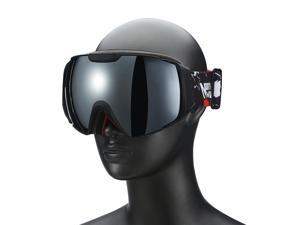 Weanas® Double Lens Anti-fog Snow Googles Ski Goggles Eyewear, Lightweight Windproof Comfortable, for Snow, Skiing, Snowboarding (Black)