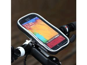 """Weanas® Bicycle Mount Bike Handlebar Cell Phone Holder Cradle for 5.5"""" Mobile Phone, Such as Iphone 6 6s Plus Samsung Galaxy S6 S5 S4 Note 4 3 - Black"""