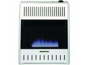 ProCom MNSD200TBA-BB Dual Propane/Natural Gas Vent-Free Blue Flame Space Heater Model-20K, Base and Blower Included