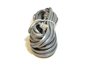 Phone Cable, RJ11 (6P4C), Straight - 25ft for data