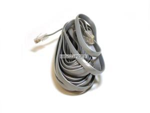 Phone cable, RJ-45 (8P8C), Reverse - 25ft for Voice