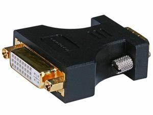 HD15(VGA) Male to DVI-A Female Adapter (Gold Plated)