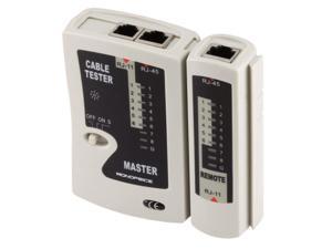 RJ-11 and RJ-45 Modular Plug Tester