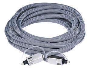 Premium S/PDIF (Toslink) Digital Optical Audio Cable, 15ft