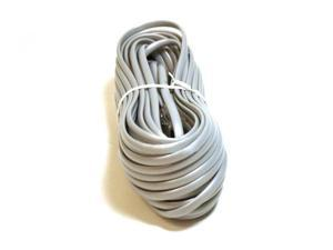 Phone Cable, RJ11 (6P4C), Straight - 50ft for data