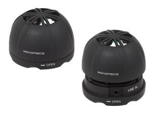 Mini Rechargeable Portable Speaker (Pair)
