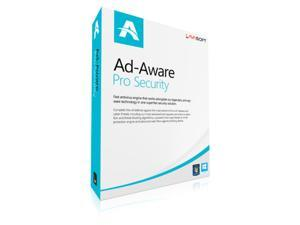 Lavasoft Ad-Aware Pro Security 1 Yr 1 Device Windows Only Download Worldwide Use