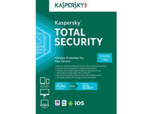 Kaspersky Total Security 2016 1 Yr 3 Devices PC/MAC/Android/iOS Download USA Canada MX Only