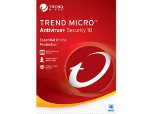 Trend Micro Antivirus 10 2016 1 Yr 1 Device Windows Only Download USA Canada MX Only