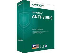 Kaspersky Antivirus 2016 2 Yr 3 Devices Windows Only Download USA Canada MX Only