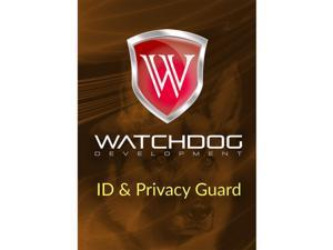 Watchdog Privacy Guard 1 Yr 1 Device Windows Only Download Worldwide Use