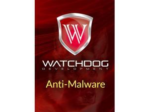 Watchdog Anti-Malware 3 Yr 1 Device Windows Only Download Worldwide Use
