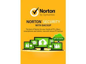 Norton Security Premium with Backup 1 Yr 10 Devices PC/MAC/Android/iOS Download USA Canada MX Only