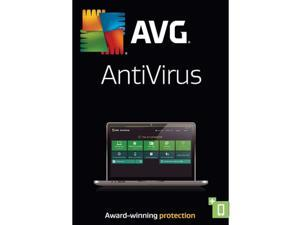 AVG AntiVirus 2016 5 Yr 1 Device Windows Only Download Worldwide Use