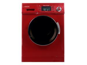 """Equator Compact 24"""" Combination Washer Dryer 13lbs/1.6 cu.ft capacity with Optional Venting/Condensing Drying&#59; Merlot"""