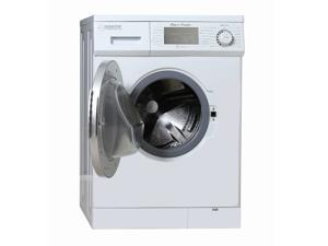 Equator 1.57 cu.ft./13 lbs White Convertible Combo Washer Dryer with Optional Venting/ Condensing Drying with Automatic Water Level and Sensor Dry