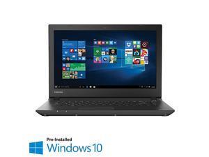 Toshiba Satellite CL45-C4370 14.0 inch Laptop (Intel Celeron N2840 Processor, 2.58GHz Turbo 2GB RAM, 32GB eMMc HD, Windows 10, Black)