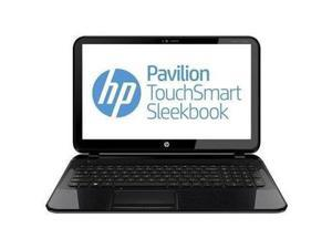 HP Pavilion Touchsmart 15-b153nr 15.6-inch Sleekbook (AMD 1.6GHz 4555M Processor, 6GB Ram, 750GB Hard Drive, Windows 8, Black)