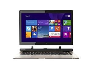 "Toshiba Satellite Click 2 L35W-B3204 Convertible 2-in-1 13.3"" Touch-Screen Laptop (Intel Pentium Processor, 4GB Memory, 500GB Hard Drive, Windows 8.1, Satin Gold)"