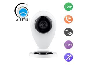 AIteyes smart remote ip camera hd 720p wifi mini security surveillance camera motion detect ir night vision support 32GTF card
