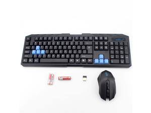 Optical Wireless Keyboard and Mouse Combos For Only MS-910 2.4G Multi-media with USB Receiver Mouse Mice for Computer Laptop PC