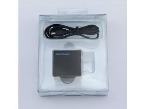 Go pro Accessories USB Dual port Charger for Gopro Hero 4 Gopro 4 AHDBT-401 AHDBT401 AHDBT 401 battery 4.3V 800mA