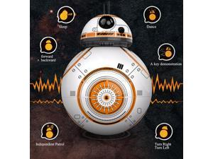 Star Wars RC BB-8 Robot Star Wars 2.4G Remote Control BB8 Robot intelligent small ball Action Figure Plastic Toys For Boys Xmas Gift