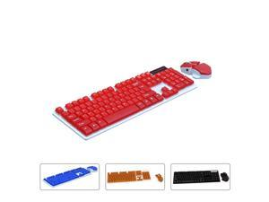 2.4GHz Slim Suspended Wireless Keyboard and Wireless Mouse Set Fashion Keyboard Mice Combo Xmas Gift