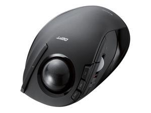 Wireless trackball mouse For the index finger 8 button tilt function black Xmas Gift