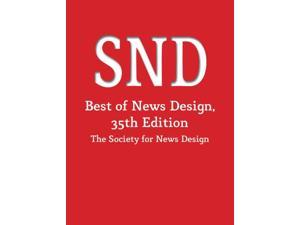 The Best of News Design, 35th Edition (Best of Newspaper Design) (Hardcover)