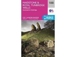 Landranger (188) Maidstone & Royal Tunbridge Wells (OS Landranger Map) (Map)