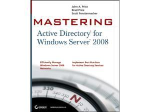 Mastering Active Directory for Windows Server 2008 (Paperback)