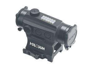 Holosun HS515C Solar Power Micro Red Dot - Circle - Dot w/ Flip Caps + QD Mounts