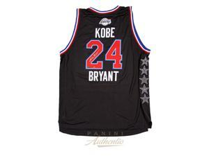 KOBE BRYANT Signed 2015 All Star Jersey PANINI LE 24.