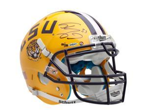 SHAQUILLE O'NEAL Signed Yellow LSU Authentic Helmet LE of 33 UDA.