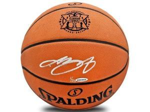 "LeBRON JAMES Hand Signed ""10th Anniversary"" Basketball UDA LE 25"