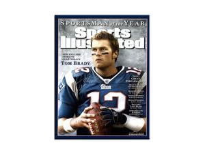 TOM BRADY Hand Signed Sports Illustrated Cover 16 x 20 TriStar