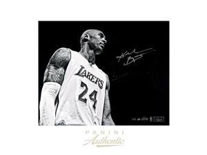 KOBE BRYANT Signed Black & White 24 x 30 Photograph LE 24 PANINI.