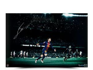 LIONEL MESSI Signed Colors of the Game Photo LE of 50 UDA.