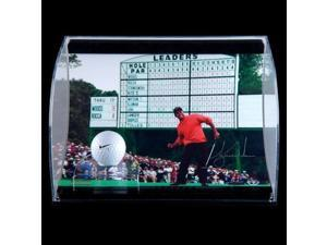 TIGER WOODS Signed Display Range Used Ball UDA LE 50