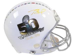 "TOM BRADY Signed Authentic ""Super Bowl On The 50"" Proline Helmet TriStar"
